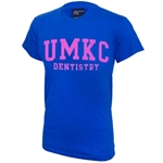 UMKC Dentistry Blue and Pink T-Shirt