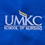UMKC School of Nursing Royal Blue Tie