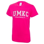 UMKC Pharmacy Bright Pink T-Shirt
