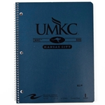 UMKC Roos Navy Blue One-Subject  Notebook