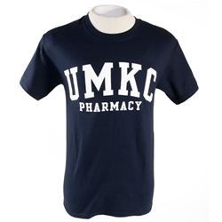 UMKC Pharmacy Navy Blue T-Shirt