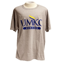 UMKC Nursing Grey T-Shirt
