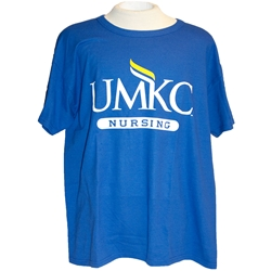 UMKC Nursing Royal Blue T-shirt