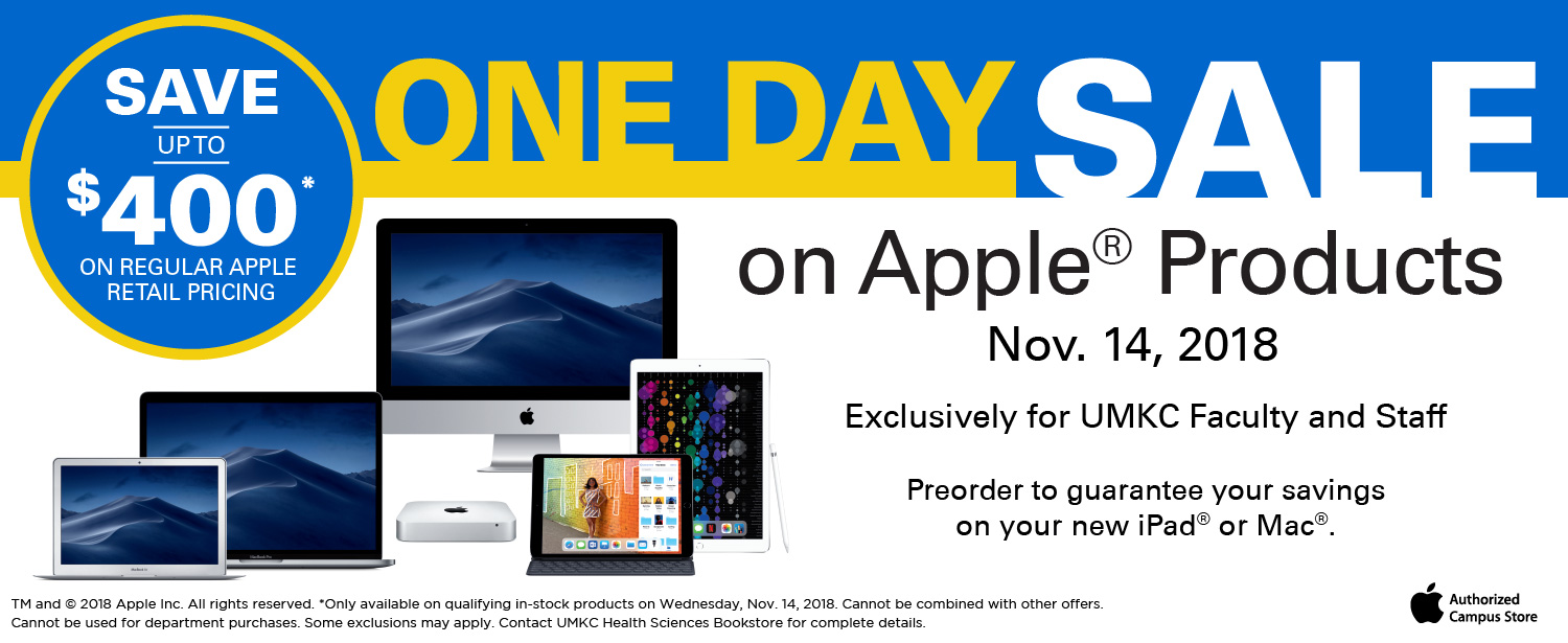 Apple One Day Sale, Preorder Now