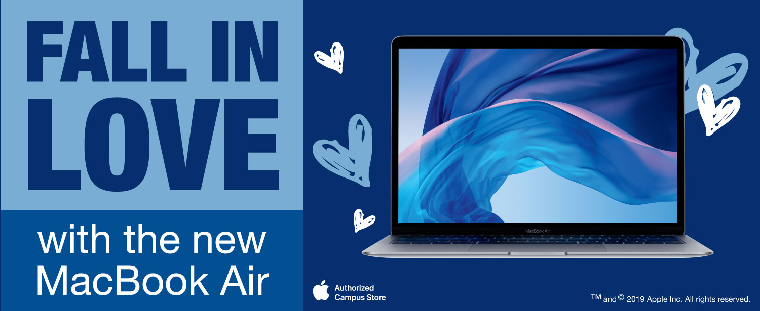 Fall in love with the new Macbook Air