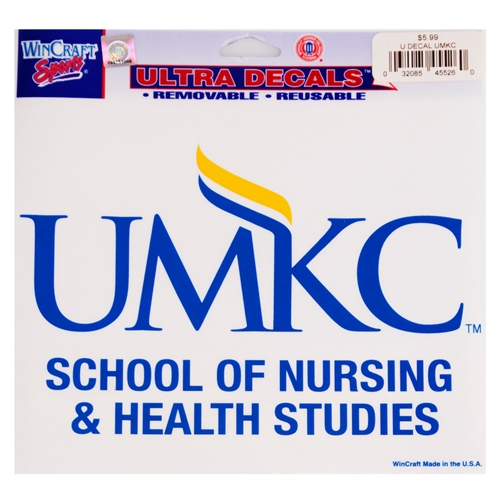 UMKC School of Nursing and Health Decal