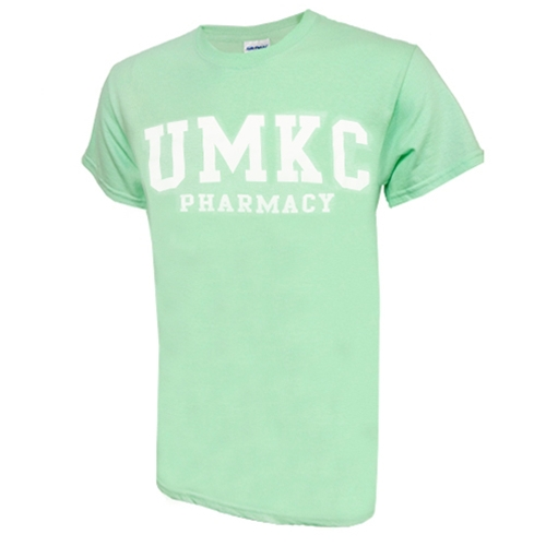 UMKC Pharmacy Mint Green Crew Neck T-Shirt