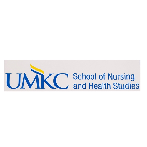 UMKC School of Nursing Blue Decal