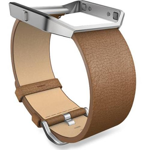 Fitbit Blaze Camel Leather Large Accessory Band