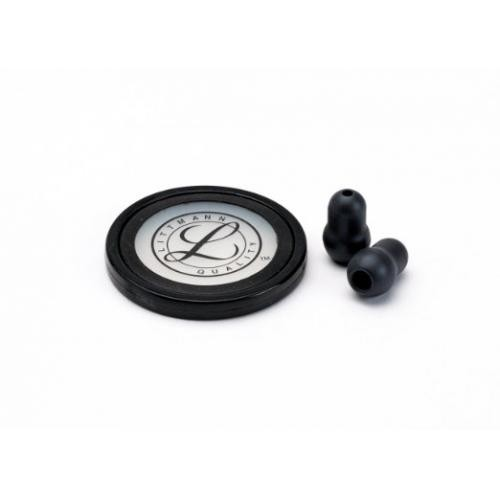 Black Master Cardiology Stethoscope Spare Parts Kit
