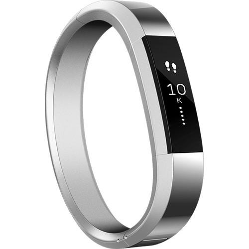 Umkc Health Sciences Bookstore Fitbit Alta Metal Bracelet Silver Small