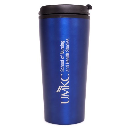 UMKC School of Nursing & Health Studies Blue Tumbler