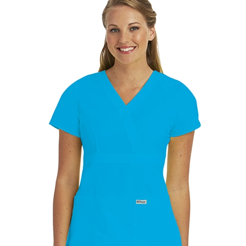 f37c296b3ae5 UMKC Health Sciences Bookstore - Grey s Anatomy Women s Blueberry V ...