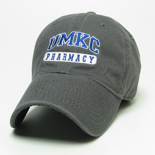 UMKC Pharmacy Grey Adjustable Hat