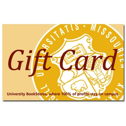 UMKC Health Sciences Bookstore Gift Cards