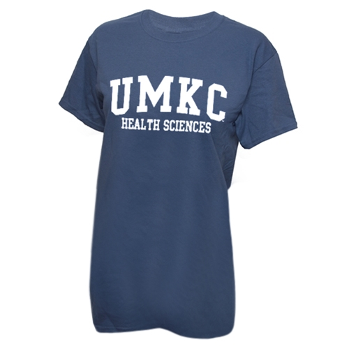 UMKC Health Sciences Indigo Crew Neck T-Shirt