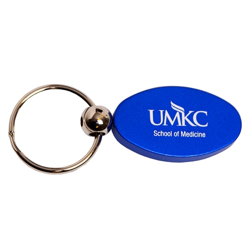 UMKC School of Medicine Blue Keychain