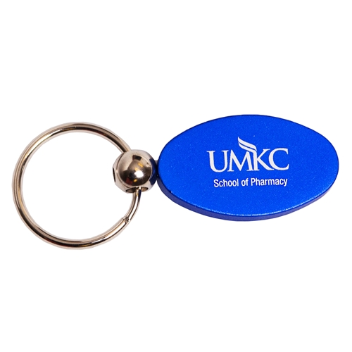 UMKC School of Pharmacy Blue Keychain